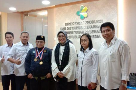 Kemenkes RI Dukung Perizinan Pabrik CV. Biofar Shrimp Skincare