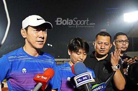 Pelatih Timnas Shin Tae-yong Dinilai Sosok Sangat Disiplin