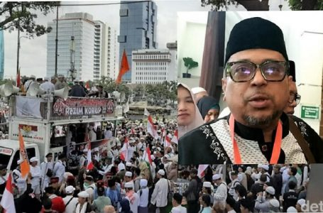 Gelagapan Haikal Hassan Ditanya Maksud Demo Mau Jatuhkan Jokowi! Ciut Juga Sama Jokowi!