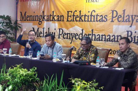 Penyederhanaan Birokrasi Berdampak Positif Terhadap Efektifitas Pelaksanaan Program-program Pemerintah