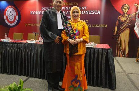 Foto Brigjen Muhammad Elia Diambil Sumpah jadi Pengacara