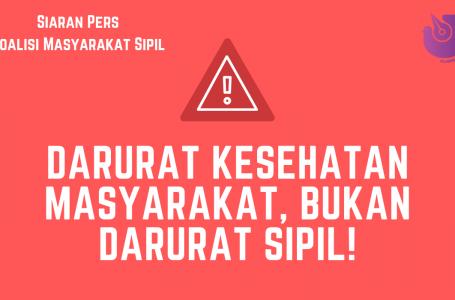 Darurat Sipil Darurat Jokowi