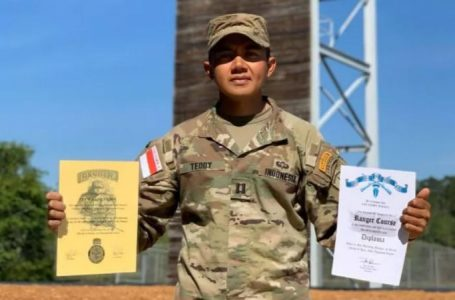 Kapten Inf Teddy Wijaya Jadi Lulusan Terbaik Pasukan Elit US Army Ranger