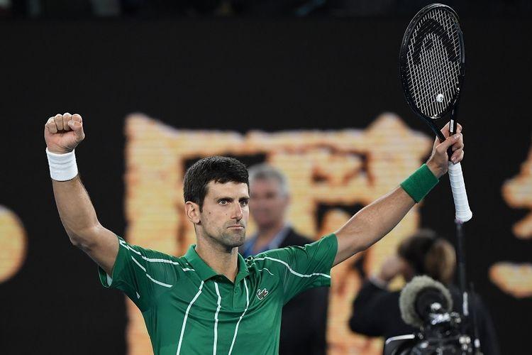 Novak Djokovic Berambisi Raih Gelar Grand Slam Terbanyak