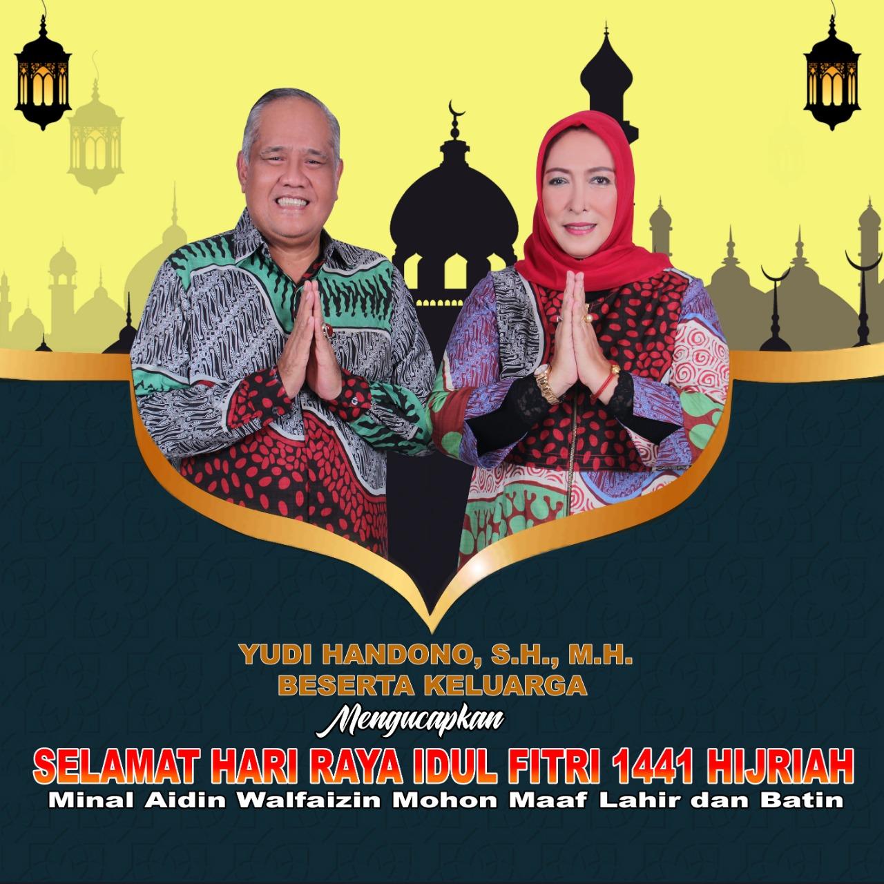 Ucapan Selamat Idul Fitri Kejati Maluku Yudi Handono