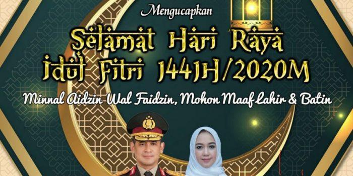 Kapolda Sultra Irjen Pol Merdisyam : Selamat Hari Raya Idul Fitri 1441 H