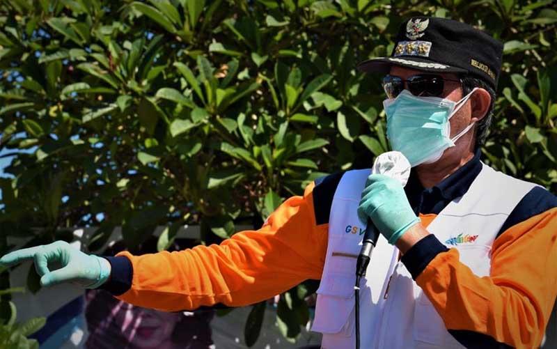 Walikota Manado Tegaskan Pos Kontrol Kesehatan di Pintu Masuk Beroperasi Jumat
