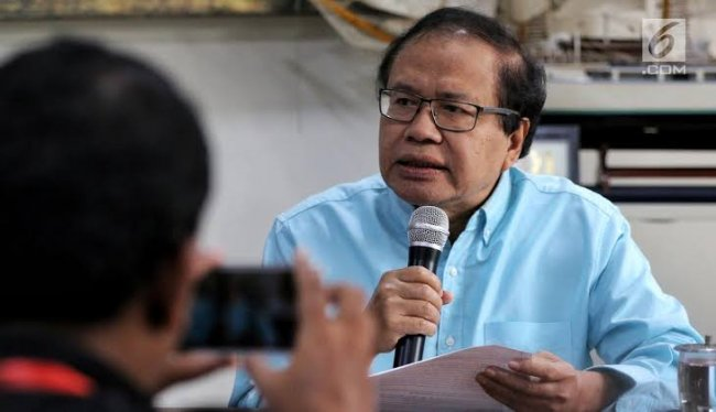 Rizal Ramli Ungkap '5 Gelembung' Krisis Ekonomi Indonesia
