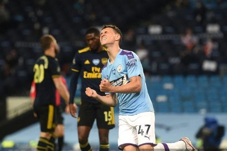 Kalahkan Arsenal, Manchester City Pangkas Jarak dengan Liverpool