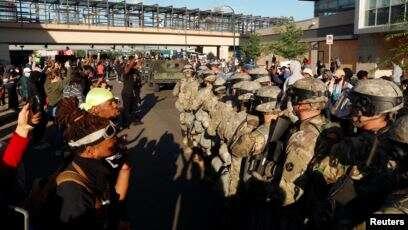Donald Trump Lontarkan Pujian pada Garda Nasional