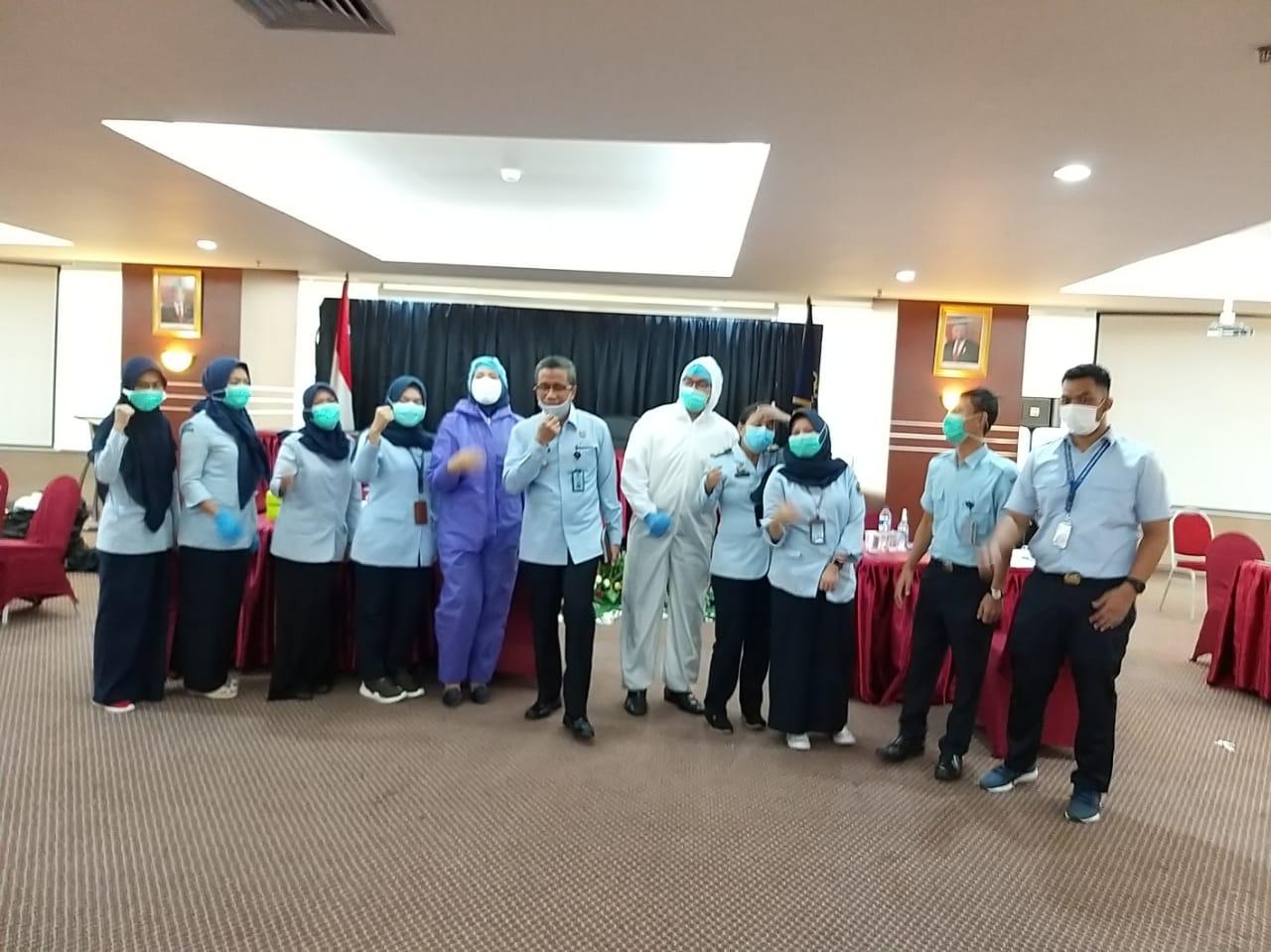 299 Pegawai Itjen Kemenkumham Rapid Test, Humas : Alhamdulilah, Semua Non Reaktif