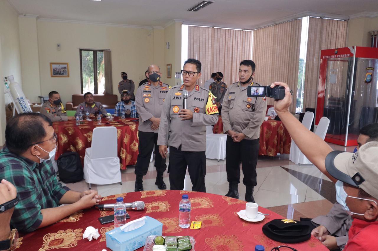 Tingkatkan Sinergitas, Polda Kepri Gelar Silatuhrahmi dengan Jurnalis Liputan Kamtibmas