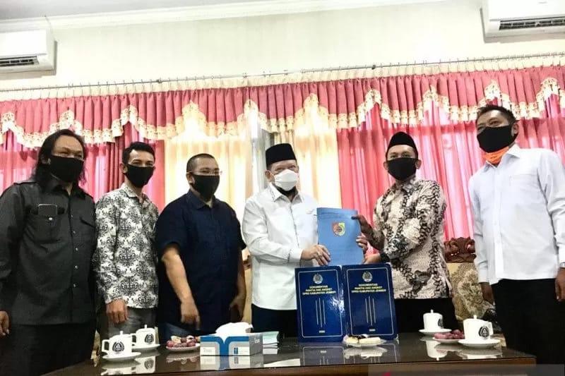 Hubungan DPRD dengan Pemkab Jember jadi Sorotan Ketua DPD LaNyalla