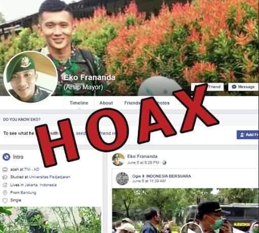 Heboh! Akun Palsu TNI AD Beredar di Medsos