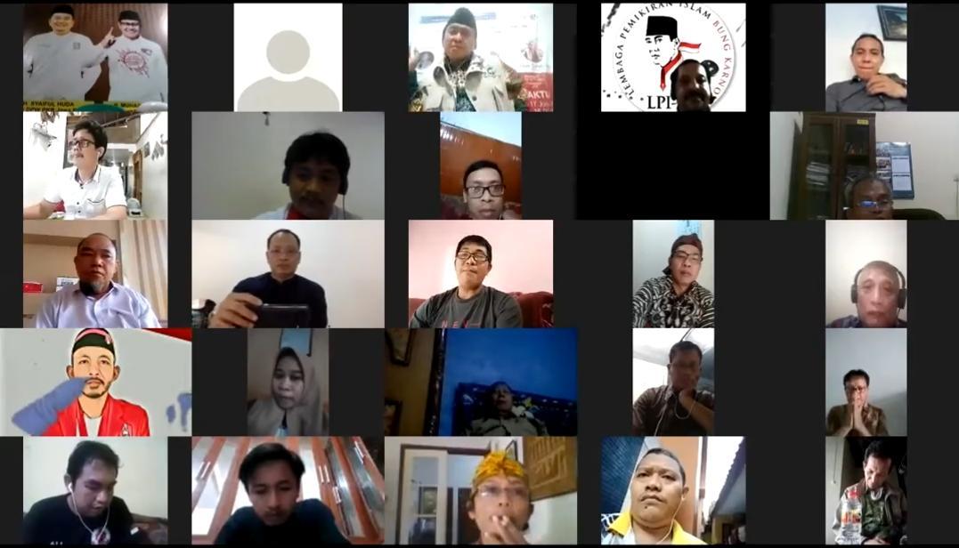 Webinar RUU HIP, Gus Sholeh : Jokowi Dengar Aspirasi Ormas dan Akademisi