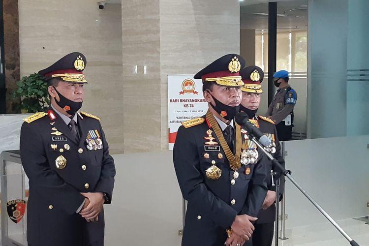 Naik Pangkat, 11 Perwira Tinggi Dilantik Kapolri Idham Azis