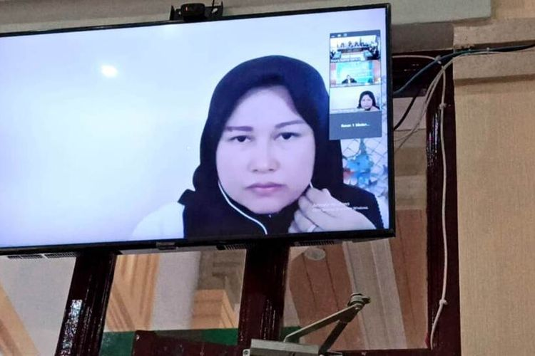 Zuraida Hanum Otak Pelaku Pembunuh Suaminya Hakim Jamaludin Divonis Hukuman Mati