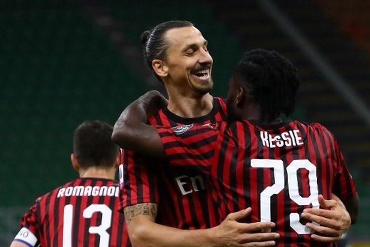 AC Milan Bukukan Rekor tak Terkalahkan di Masa Pandemi Corona
