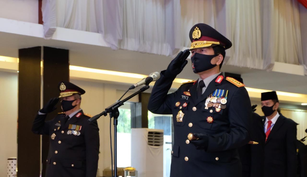 Dipimpin Presiden Joko Widodo, Upacara Hari Bhayangkara ke-74 Polda Kalsel Digelar Virtual