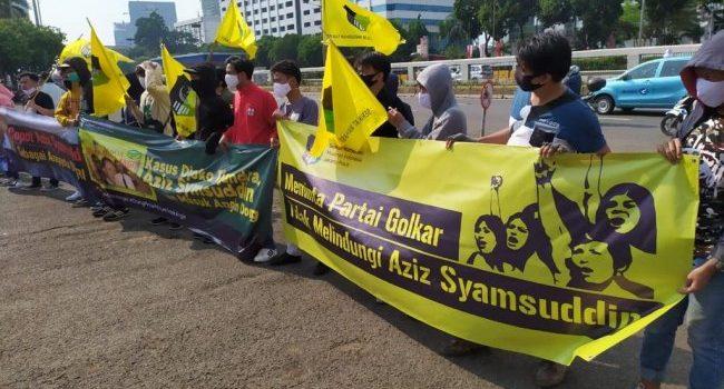Tolak RDP Kasus Djoko Tjandra, SEMMI Duga Azis Syamsuddin 'Masuk Angin'
