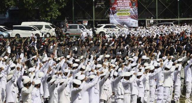 Dibawa Komando Ulama Siap Jihad Qital Ganyang Komunis