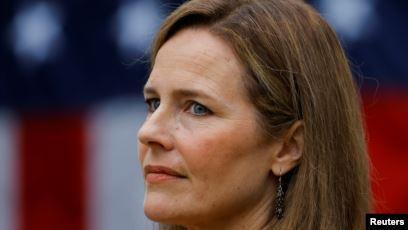 Trump Jagokan Amy Coney Barrett Hakim Agung AS
