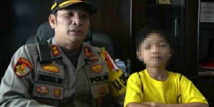Dianiaya Ayah dan Dibuang Ibunya, Kini Bocah Ini Diasuh Kapolres Pelalawan
