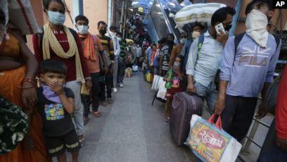 Terinfeksi Corona di India Capai 5,4 Juta Orang