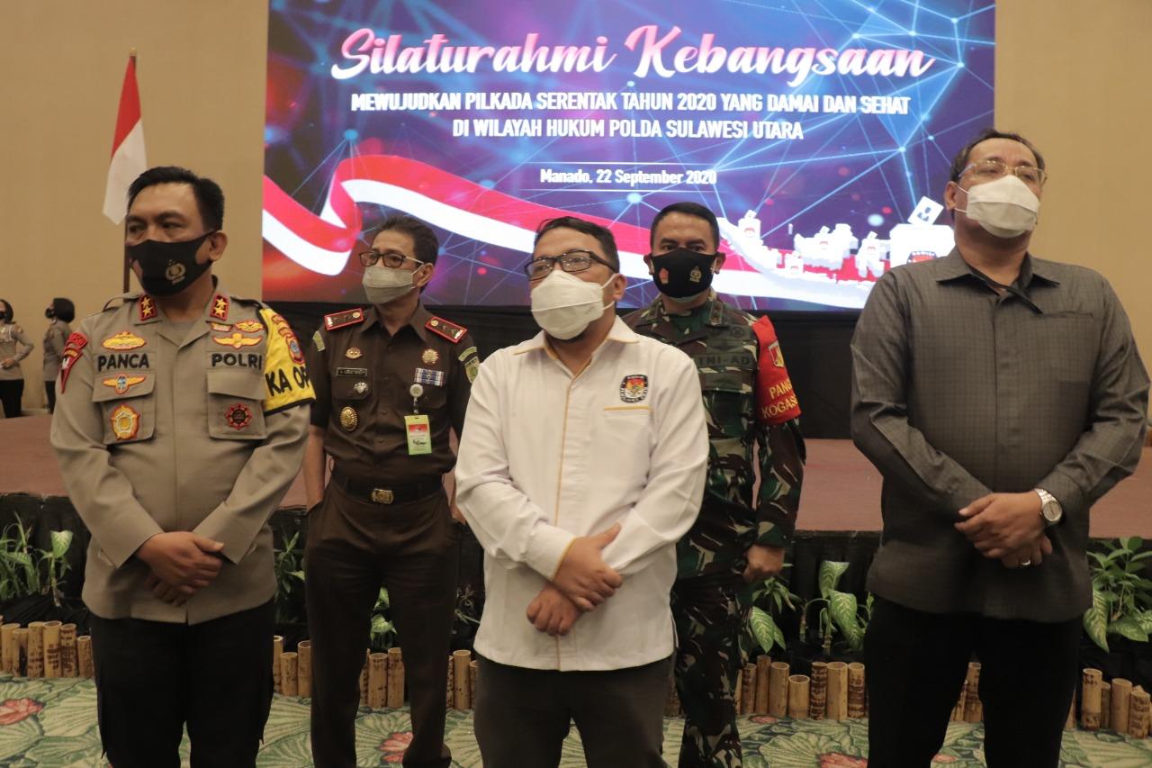 Gelar Silaturahmi Kebangsaan, Kapolda Sulut Ajak Seluruh Pihak Laksanakan Pilkada yang Damai dan Sehat