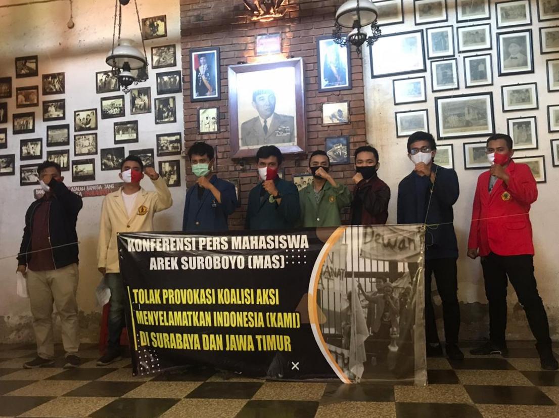 Mahasiswa Arek Suroboyo Kecam Pernyataan Kontroversial Deklarator KAMI Gatot Nurmantyo