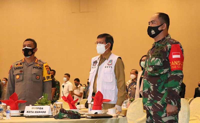 Walikota Manado Hadiri Silaturahmi Kebangsaan