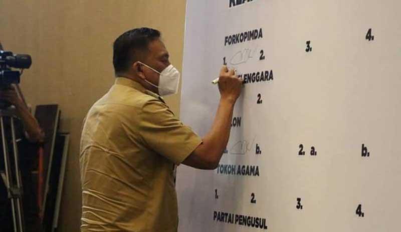 Gubernur Sulut Berharap Masyarakat Memilih Calon Kepala Daerah Tanpa Paksaan
