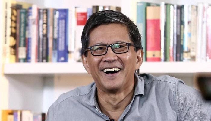 Pidato di PBB, Rocky Gerung Kwatir Jokowi Dibully Wartawan Asing