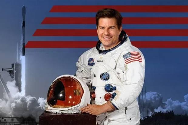 Tom Cruise Siap Berakting di Luar Angkasa