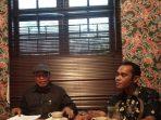 Ketua Presidium Kongres Rakyat Flores (KRF), Petrus Salestinus, Saat Konferensi Pers di Jakarta, Selasa (17/11/2020).