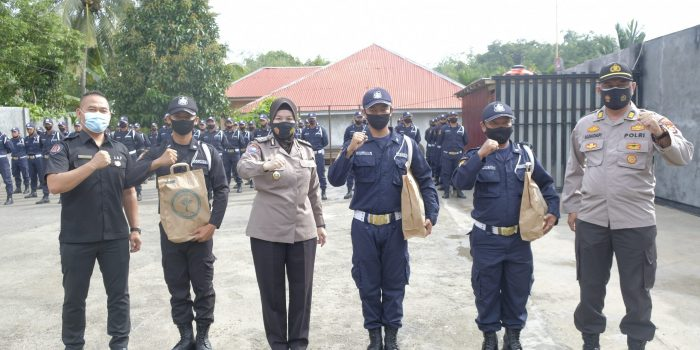Direktorat Binmas Polda Bengkulu Tutup Pelatihan Diksar Satpam