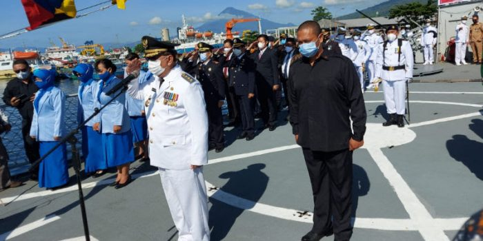 Pjs Walikota Edison Humiang Irup Hari Pahlawan di Kota Bitung