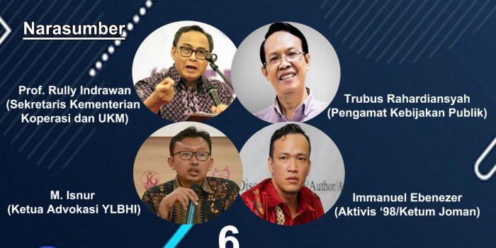 Salah Ketik UU Ciptaker, Permahi Jakarta: Setneg Jangan Menjadi Kambing Hitam