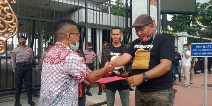 Dukung Otsus Papua Jilid II 'KOMPPI Dan Pemuda Pancasila Gelar Aksi Depan Kemendagri
