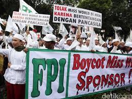Survei SMRC : 43 Persen Responden Menyukai FPI