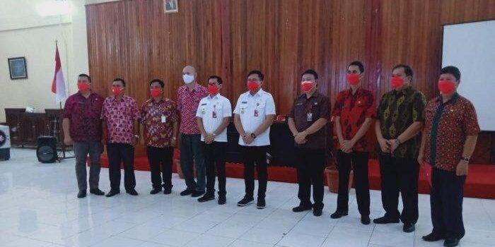 Joune Ganda dan Kevin Lotulong Rotasi Sejumlah Pejabat di Minut